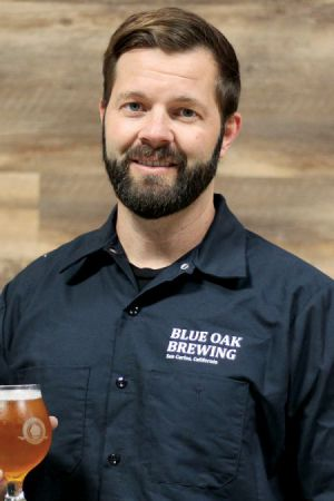 Alex Porter, founder and brewmaster at Blue Oak Brewing Company