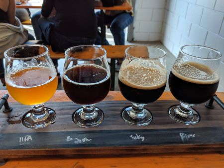Flight Time – IIPA, Belgian Dubbel, Stout, and Porter – Something for everybody!