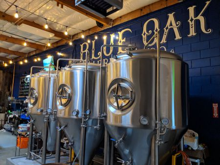 Blue Oak Brewing Company brewery and tasting room